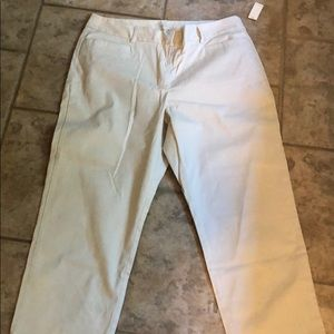 New with tags. Talbots crop ankle pants.
